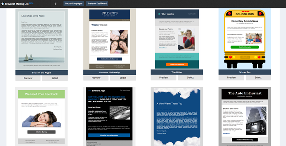 Mailing List Themes