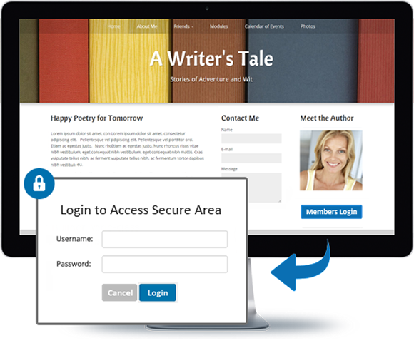 password protect service