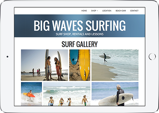 Mobile-Friendly Galleries