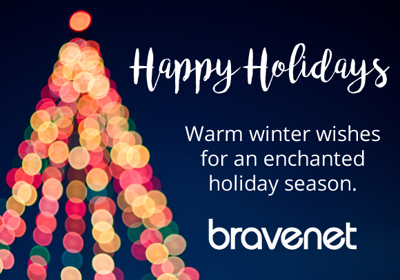 Happy Holidays from Bravenet